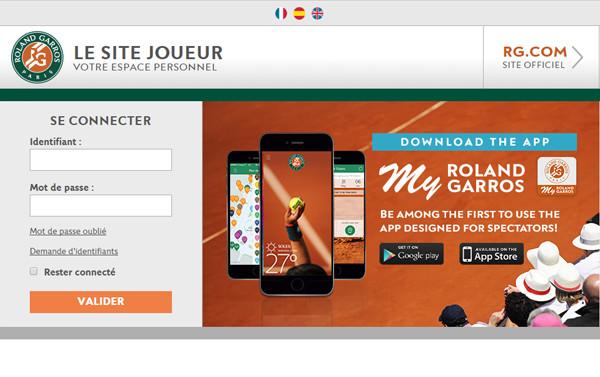 Roland Garros' Players